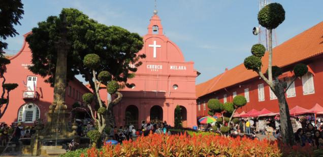 Melaka, una ciutat amb història