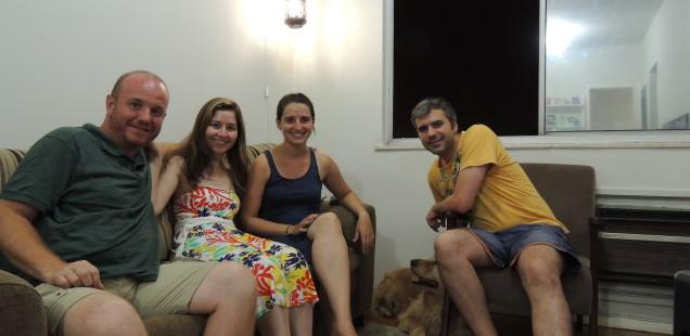 Rio de Janeiro: Carol, Rodrigo (i Nina)