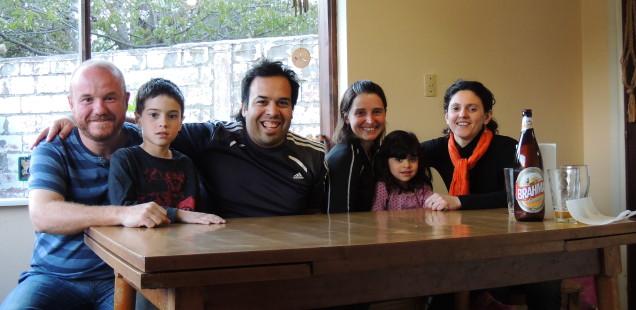 Esquel: Daniela, Maxi, Joaquin i Amparo