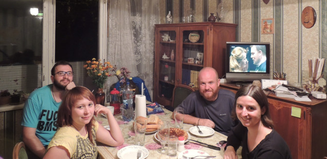 Moscou: Tamara i Anton