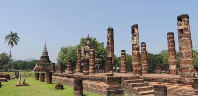 Les ruïnes de Sukhothai