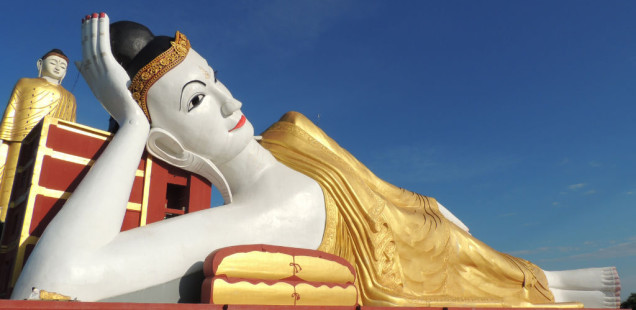 Els Budes gegants de Monywa
