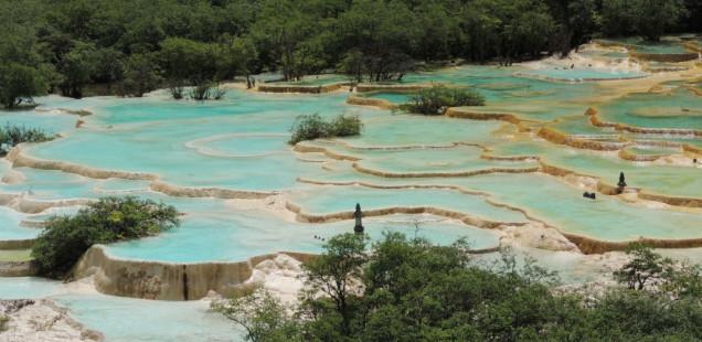 Les piscines naturals de Huanglong