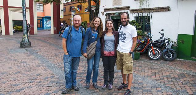 El millor de Bogotá: retrobar el Tiago i la Teresa